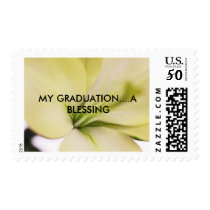 MY GRADUATION....A BLESSING Postage