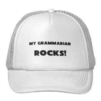 MY Grammarian ROCKS Hats