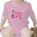My Grammie Loves Me Dinosaur T Shirts