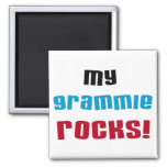 My Grammie Rocks T shirts and Gifts Fridge Magnets
