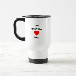 my grammy loves me coffee mug