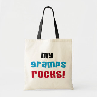 My Gramps Rocks T-shirts and Gifts Canvas Bags
