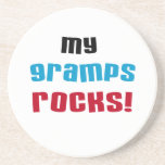 My Gramps Rocks T-shirts and Gifts Beverage Coasters