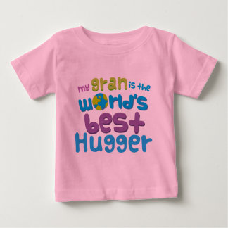 My Gran is the Best Hugger in the World Baby T-Shirt