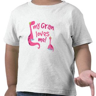 My Gran Loves Me Dinosaur T Shirts