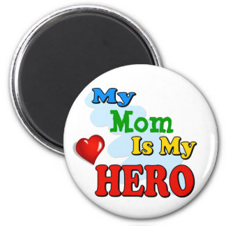 My Grandad Is My Hero – Insert your own name 2 Inch Round Magnet