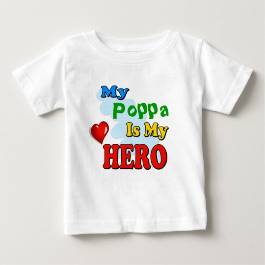 My Grandad Is My Hero – Insert your own name Baby T-Shirt