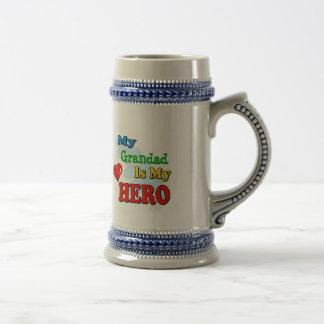 My Grandad Is My Hero – Insert your own name Beer Stein