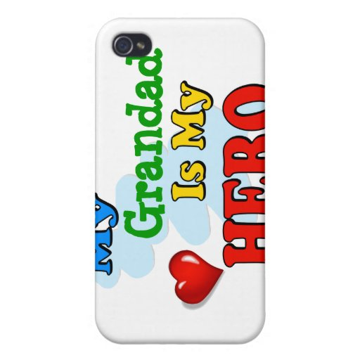 My Grandad Is My Hero – Insert your own name iPhone 4/4S Covers