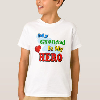 My Grandad Is My Hero – Insert your own name T-Shirt