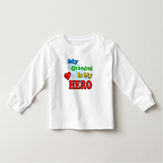 My Grandad Is My Hero – Insert your own name Toddler T-shirt