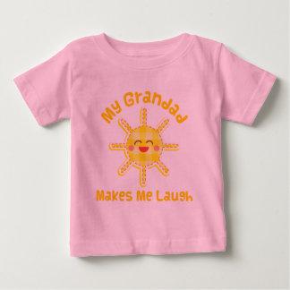 My Grandad Makes Me Laugh Baby T-Shirt