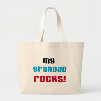 My Grandad Rocks T-shirts and Gifts Tote Bags