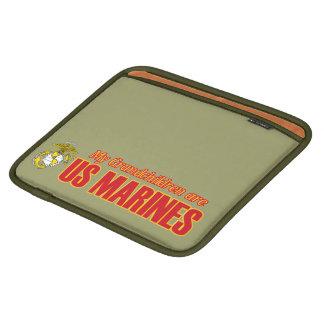 My Grandchildren are Marines iPad Sleeve