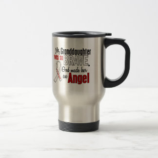 My Granddaughter Is An Angel Lung Cancer Coffee Mug
