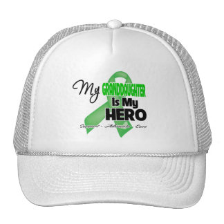 My Granddaughter is My Hero - Kidney Cancer Trucker Hat