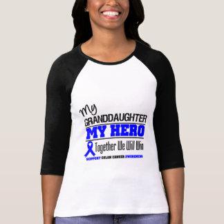 My Granddaughter, My Hero Colon Cancer Tshirt