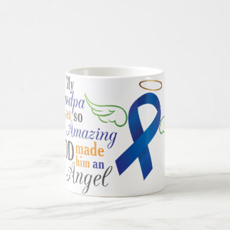 My Grandfather An Angel - Anal Cancer Coffee Mug