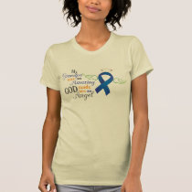 My Grandfather An Angel - Anal Cancer T-Shirt