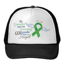 My Grandfather An Angel - Bile Duct Cancer Trucker Hat