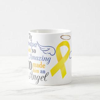 My Grandfather an Angel - Bladder Cancer Classic White Coffee Mug
