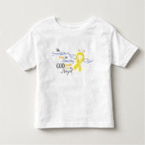 My Grandfather An Angel - Bladder Cancer Toddler T-shirt