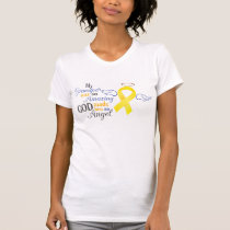 My Grandfather and Angel - Bladder Cancer T-Shirt