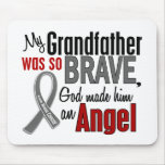 My Grandfather Is An Angel 1 Brain Cancer Mouse Pad