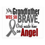 My Grandfather Is An Angel 1 Brain Cancer Postcard