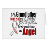 My Grandfather Is An Angel Lung Cancer Card