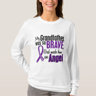 My Grandfather Is An Angel Pancreatic Cancer T-Shirt