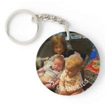 My Grandkids Photo gift Keychain