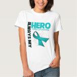My Grandma Always My Hero - Ovarian Cancer Shirts