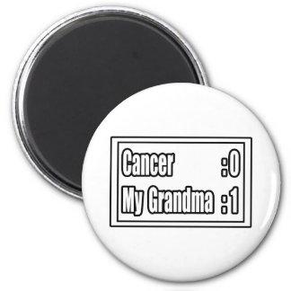 My Grandma Beat Cancer (Scoreboard) Fridge Magnets