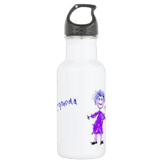 My Grandma - Child's Drawing 18oz Water Bottle