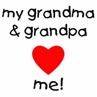 my grandma & grandpa love me statuette