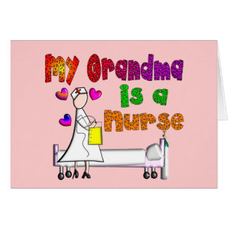 My Grandma is a NURSE Card