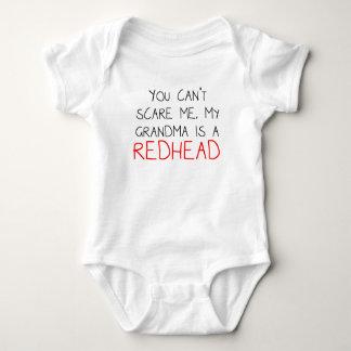 My Grandma Is A Redhead Baby Bodysuit