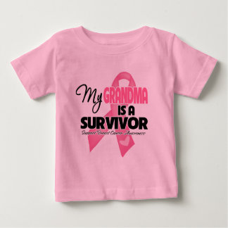 My Grandma is a Survivor - Breast Cancer Tee Shirt