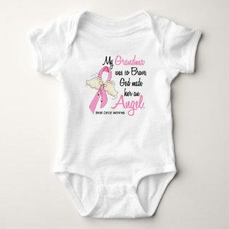 My Grandma Is An Angel 2 Breast Cancer Baby Bodysuit