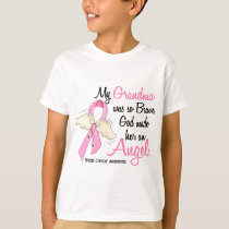 My Grandma Is An Angel 2 Breast Cancer T-Shirt