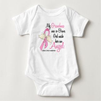 My Grandma Is An Angel 2 Breast Cancer Tee Shirts