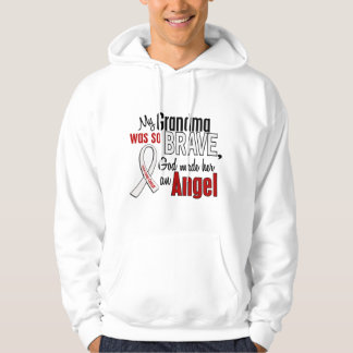 My Grandma Is An Angel Lung Cancer Hoodie