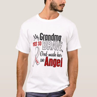 My Grandma Is An Angel Lung Cancer T-Shirt