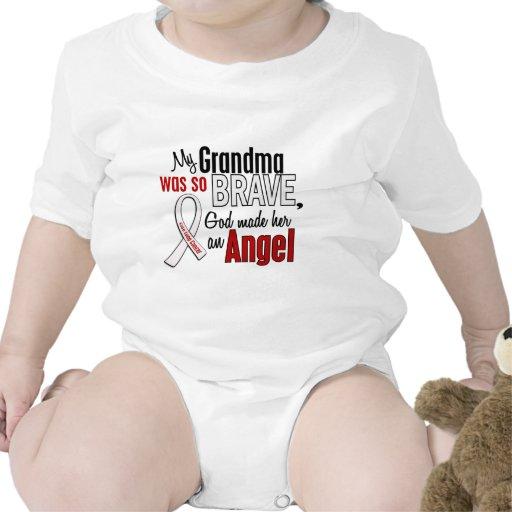 My Grandma Is An Angel Lung Cancer Bodysuit
