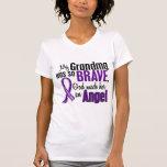 My Grandma Is An Angel Pancreatic Cancer Tee Shirt