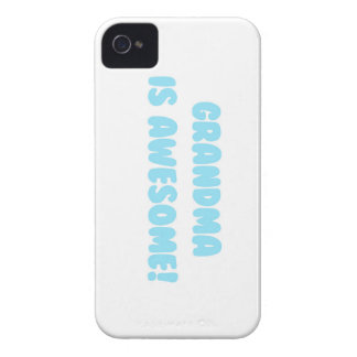 My Grandma is Awesome in Blue Case-Mate iPhone 4 Case