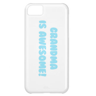 My Grandma is Awesome in Blue iPhone 5C Cases