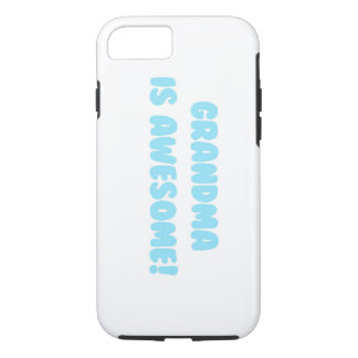 My Grandma is Awesome in Blue iPhone 8/7 Case