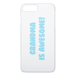 My Grandma is Awesome in Blue iPhone 8 Plus/7 Plus Case